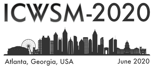 ICWSM 2020 (14th International AAAI Conference on Web and Social Media)